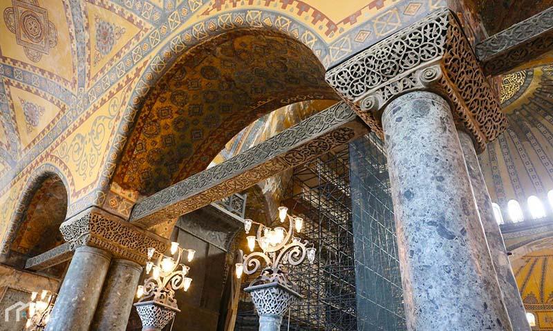 Hagia Sophia arches