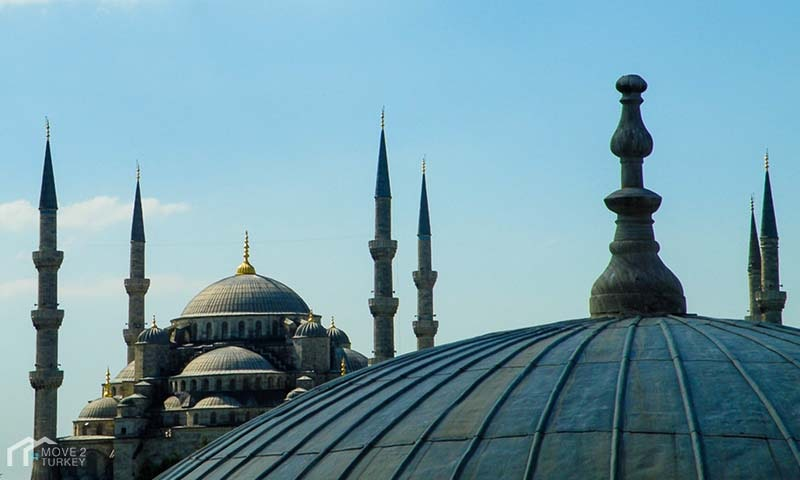 Sultan Ahmed Mosque | the blue Mosque dome