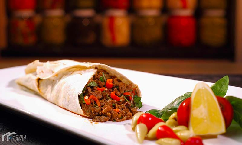 Tantuni Recipe from the Turkish cuisine