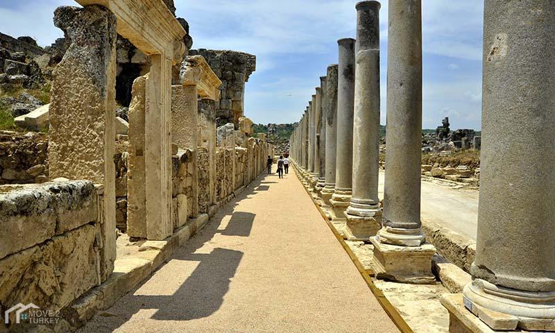 History of Antalya