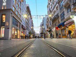 Istanbul empty street
