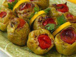 Turkish Stuffed Peppers Recipe (Dolma)