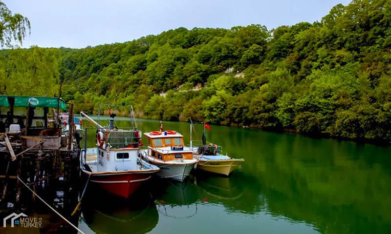 Ağva Region At The Black Sea