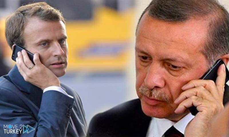 A phone call between Macron and Erdogan regarding the Eastern Mediterranean