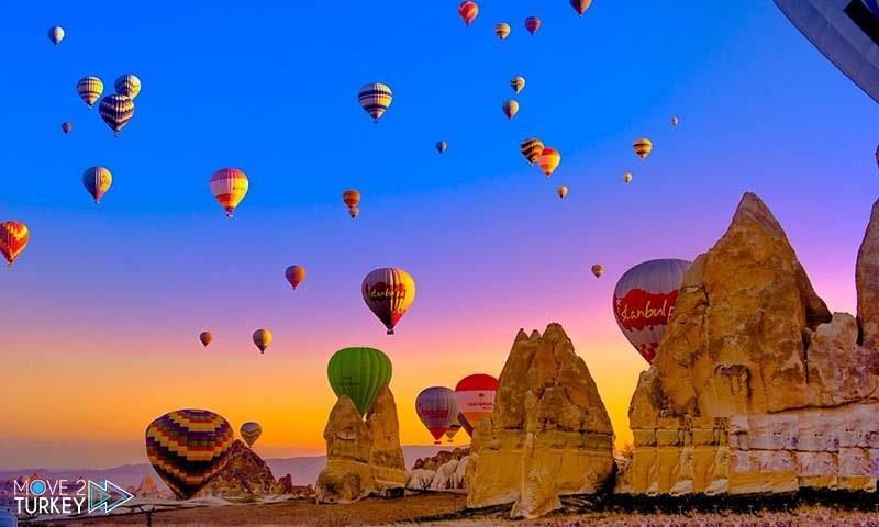 Hot air balloon in Cappadocia رحلة المنطاد في كابادوكيا