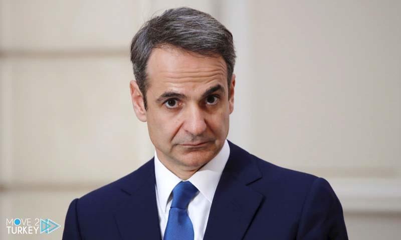 Greek Prime Minister Kyriakos Mitsu Takis