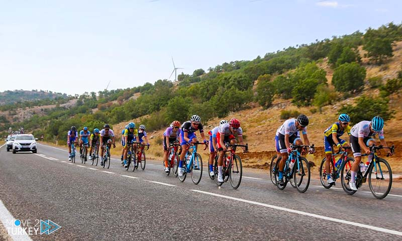 Erciyes International Cycling Championship in Cappadocia