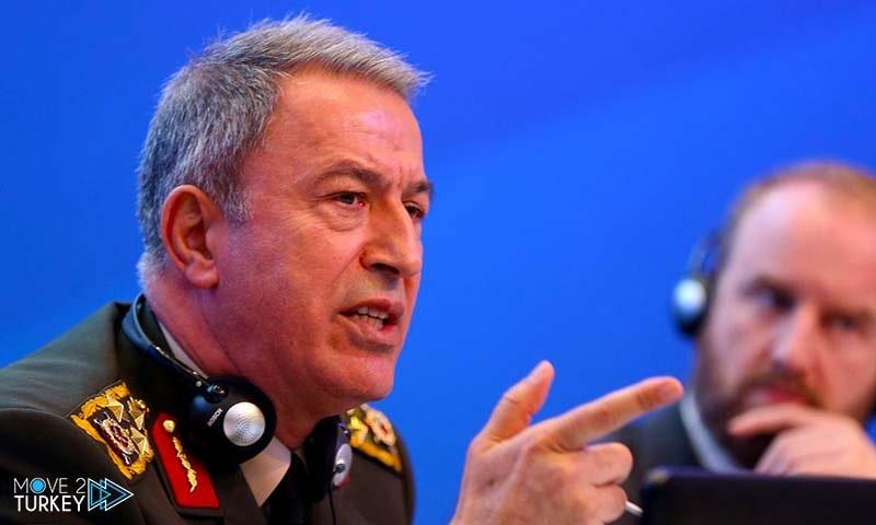 Turkish Defense Minister Halusi Akar