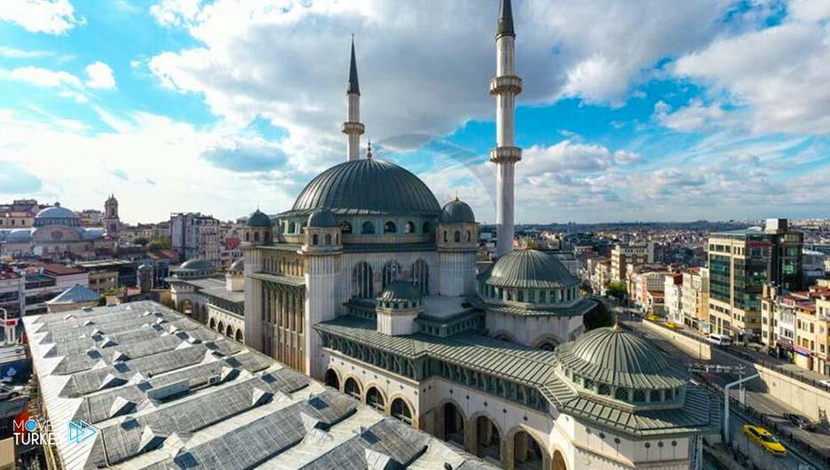 Taksim Mosque in Istanbul