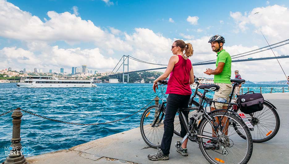 Cycling in Istanbul