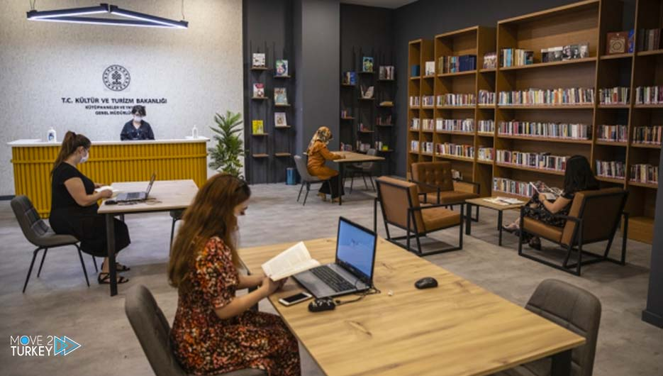 Opening of 20 libraries in the malls in Turkey by the end of the year