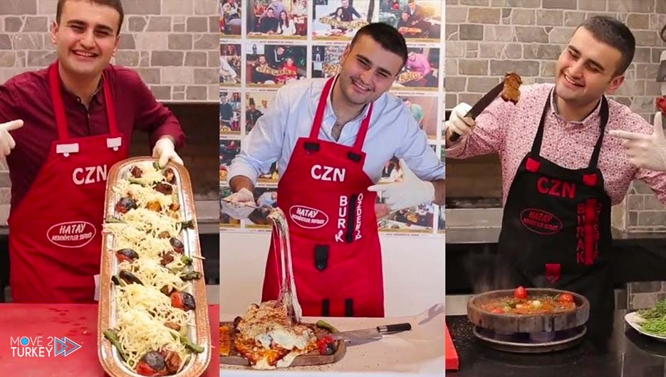 Turkish chef Burak