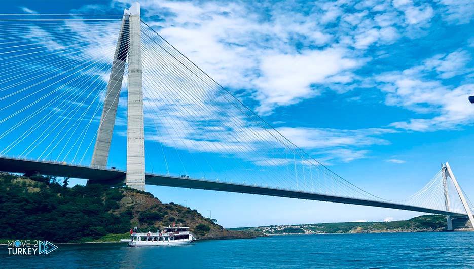 Sultan Salim Yavuz Bridge in Istanbul