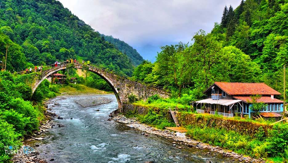 مدينة ريزا شمال تركيا