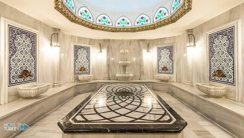 حمام تركي تقليدي