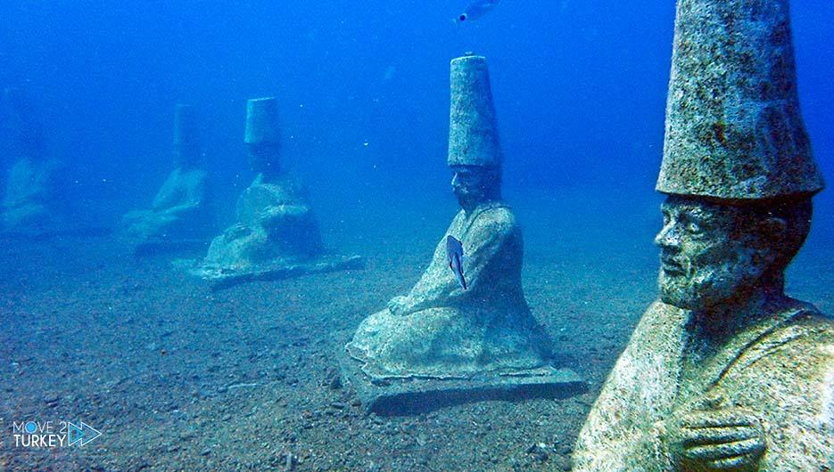 Side Underwater Museum in Antalya
