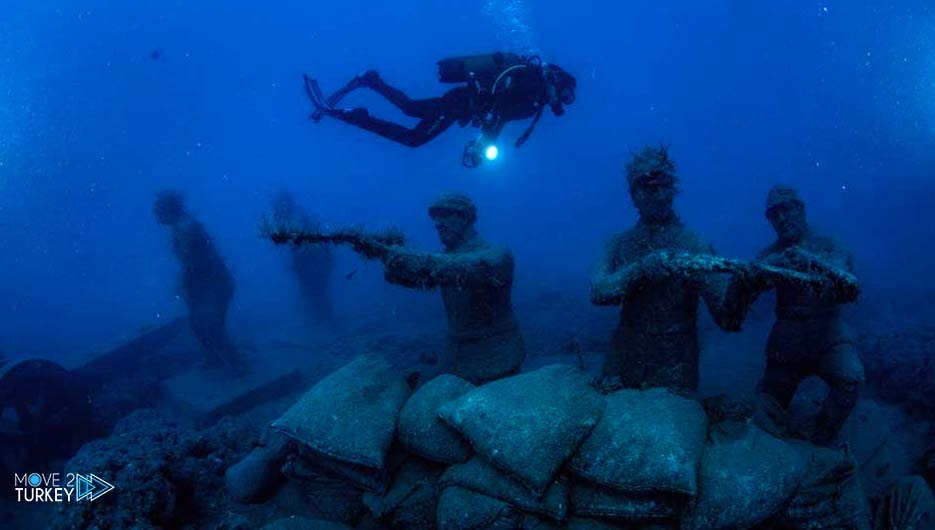 Side Underwater Museum in Antalya, an interesting experience in a charming city